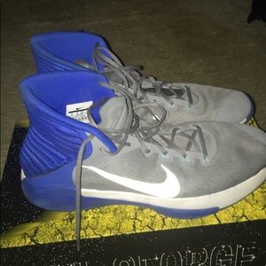 Nike shoes  blue grey and white size 14